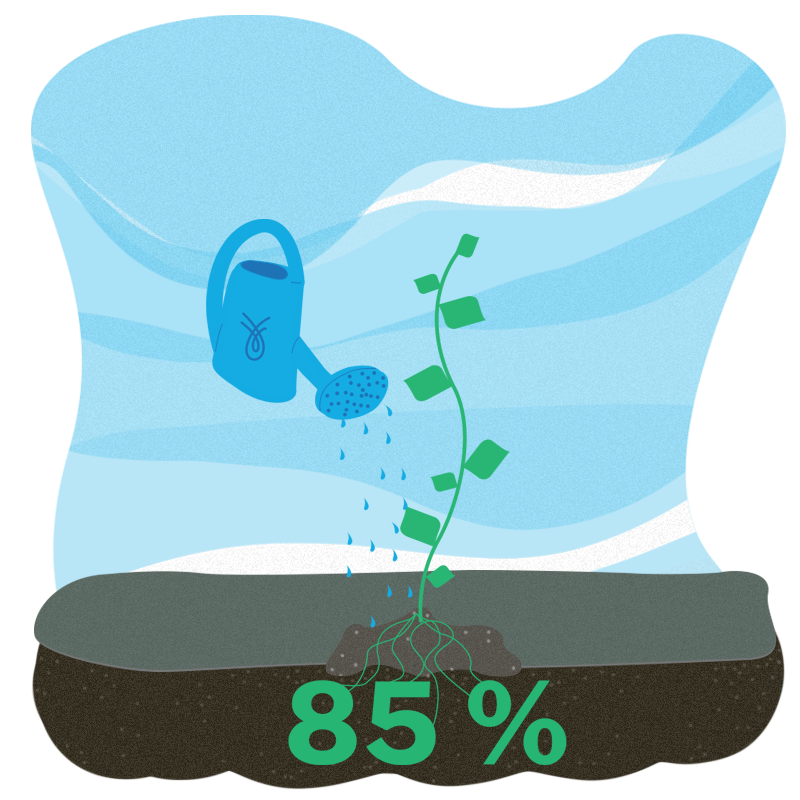 An overwhelming majority of Spring's customers—around 85%—choose to connect their financial accounts with Flinks in order to complete a loan application.