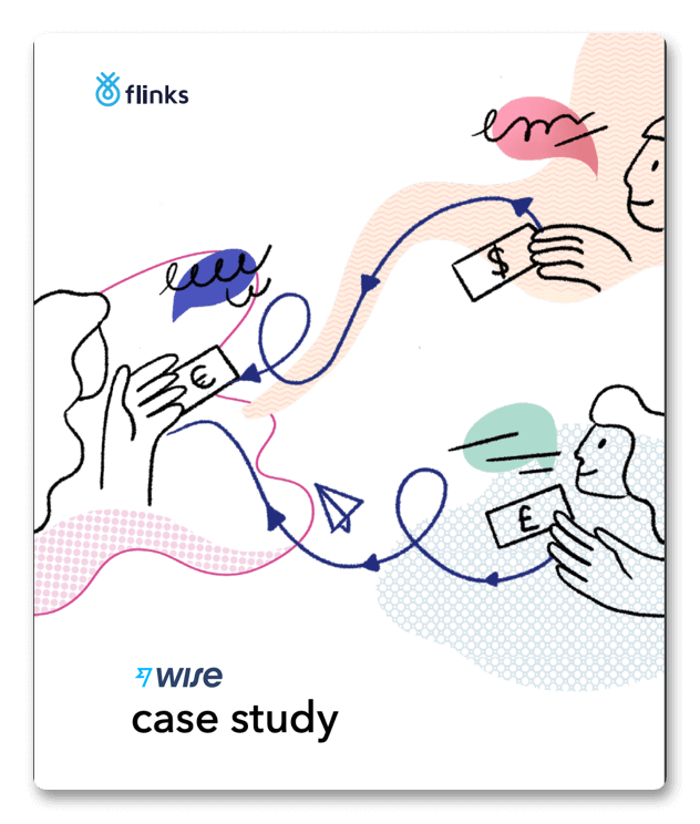 Flinks' data aggregation powering Wise